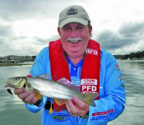 One of the author's favourite lures for whiting is the deep-water blade.