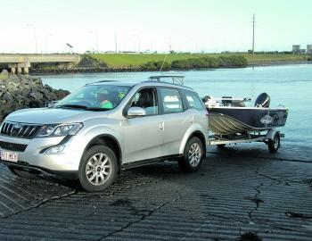 Boat towing is never an effort with this all-wheel drive and its 2.5t braked trailer capability.