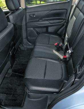The Outlander's generous rear seat room remains unchallenged.