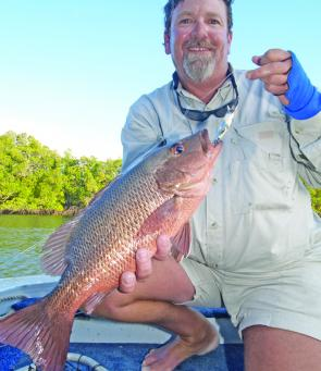Mangrove jack will be on the chew in the rivers, so get out some lures and get into them.