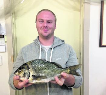 This quality bream was caught by Wonthaggi angler, Sean Thompson.