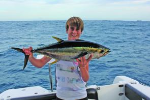 Yellowfin tuna are a great species to target this summer.