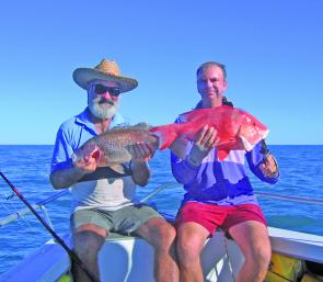 A good wet season really improves the fishing.