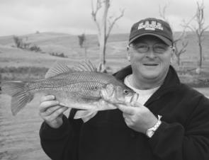 Hefty fish like this 44cm bass caught by Dave George should be common this month if you're doing things right