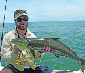 Cobia will be a top target this month.