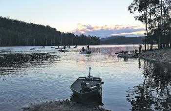 Cool, calm, and still conditions awaited anglers at round five of the 2016 BASS Electric series.