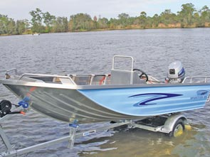 This is an economical rig to purchase and own, leaving plenty of change for bait, tackle and other fishing essentials.