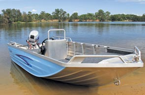 V-nose punts are versatile calm-water fishing machines.