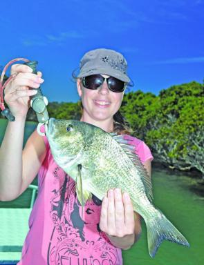 The Bega River and nearby estuaries hold quality bream this season.