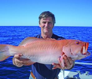 This magnificent coral trout was caught by Bill Sanderson at North Reef from local charter boat Tekka 1.