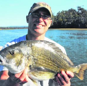 Port Sorell has some awesome bream as the author shows.