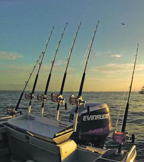 Triabunna has some sensational fishing grounds and there are many stories of tuna busting out of the water.