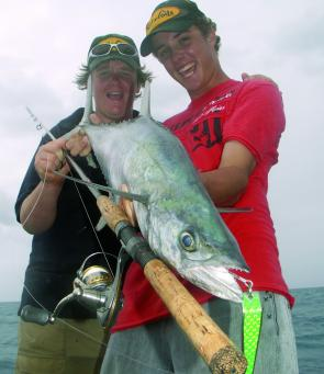 Mackerel are an awesome target for saltwater jigging.