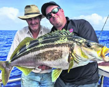 The deep sea fishing around Flinders is nothing short of exceptional.