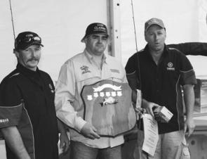 Hayden Brown took home the perpetual trophy for the longest cod of 121cm.
