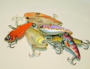 It's a great idea to have a good selection of lipless crankbaits and vibration lures to have all bases covered.