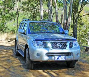 Some unplanned test driving revealed that the Ti 550 Pathfinder can take serious off road work in its stride.