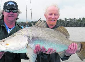 Big winter barra are still available for those willing to put in the effort.