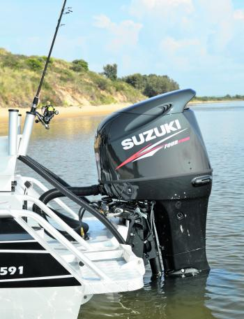 The Suzuki 140hp 4-stroke with its Lean Burn technology had some impressive fuel usage figures.