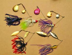 Spinnerbaits are tops for Eildon – try experimenting with a Gulp plastic.