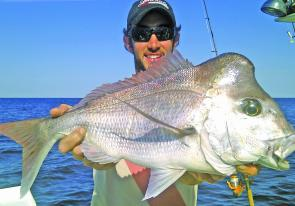 Cracking knobby snapper will still be viable for those able to head out wide.