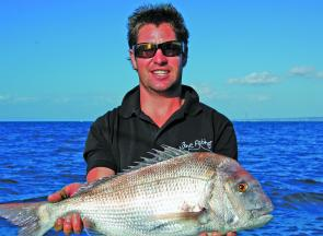 Offshore snapper are a different proposition to those in the bay – offshore they fight harder than you'd imagine.