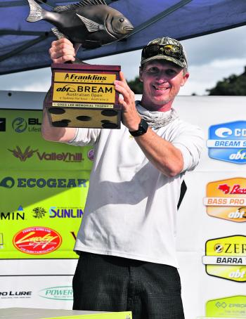 The spoils of victory went to Steve Morgan in the Franklins Australian sponsored event.