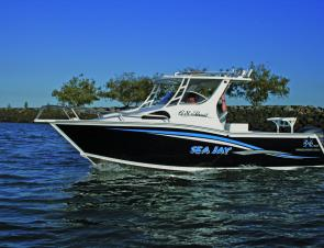 The Pursuit is the sort of boat that is sure to turn heads on the water.