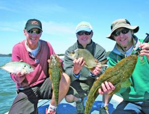 Bream, trevally and flathead have been firing up in the tranquil waters of Tuross Lake.