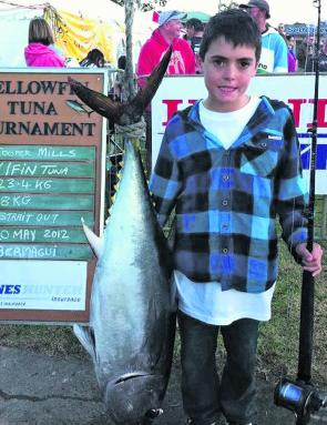 The bluefin tuna are lurking over the continental shelf and it is prime time to target them.