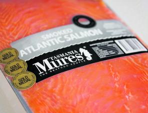 Use only premium smoked salmon, not one that has been frozen.