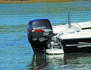 The 115hp Suzuki made easy work of powering the Revival, which is rated for engines from 75hp to 115hp.