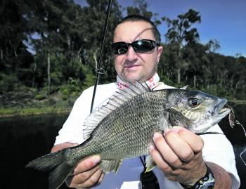 Small vibes are deadly on bream year-round.