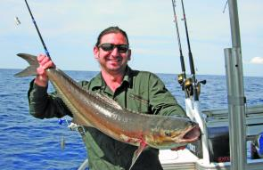 Another happy angler after landing this wonderful October cobia.