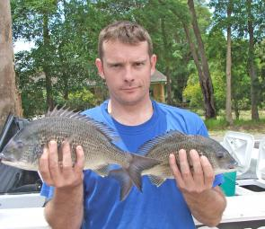 Big bream have been caught on the deep reefs around Maclean.