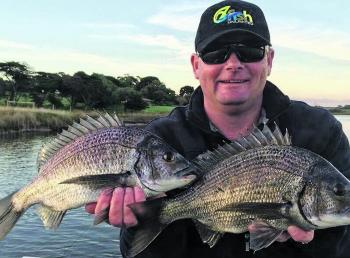Big winter bream are common in the South West.