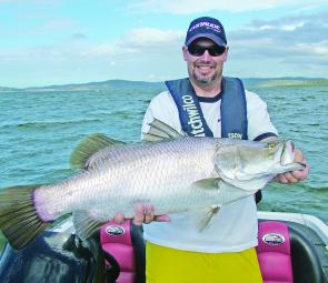 Phil Strader claimed victory in the 2-day Awoonga event with Slick Rig caught fish like this.
