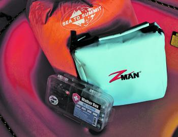 A double-sided tackle tray (N) slid under the seat can hold all the lures and terminal tackle that you use regularly. You can also keep a range of soft plastics handy in a wallet (O) under the seat.