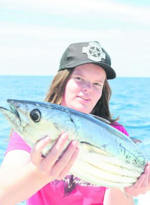 Where there are striped tuna there are marlin, possibly big blues.