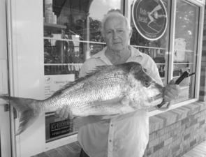 Although the tailor and bream are making news at the moment, snapper are still about as Don found out with this ripper from the southern bay.