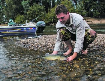The rivers are low and clear this month, which brings amazing fishing opportunities.