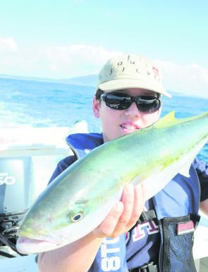 Kingfish should still be plentiful around the reefs and deeper headlands this month.
