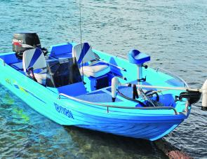 The Challenger is a boat built for the estuary. Whether crabbing, prawning, fishing or towing the kids around on a toy, it has the capacity to satisfy the boater who wants an economical craft.