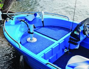The cockpit and foredeck are basic but practical and comfortable.