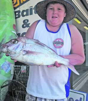 Aaron Billingsley caught this snapper off Crowdy Head.