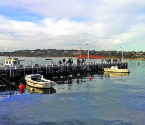 The Mornington Pier renovation is near completion, so expect crowds to grow as we head toward summer.