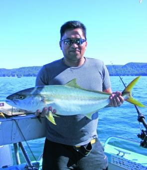 Kingfish like this are worth targeting this month.
