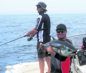 Dan Mackerel and Steve Parker recently experienced some awesome offshore stickbaiting action.