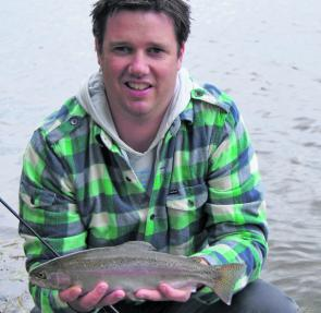 Lake Wendouree is giving up plenty of well-conditioned brown trout.