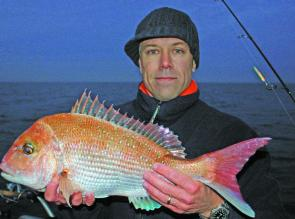 John Cahill with an early season snapper.